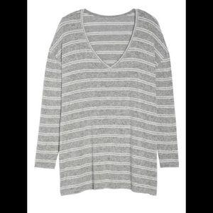 BP NWT Kora Stripe Heathered Soft Sweater
